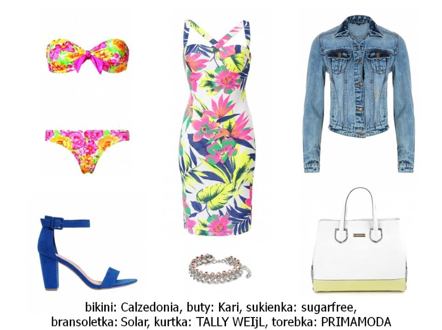 Ubrania w egoztyczne wzory na lato 2014