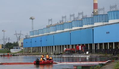 Wyciek mazutu z elektrowni w Kozienicach