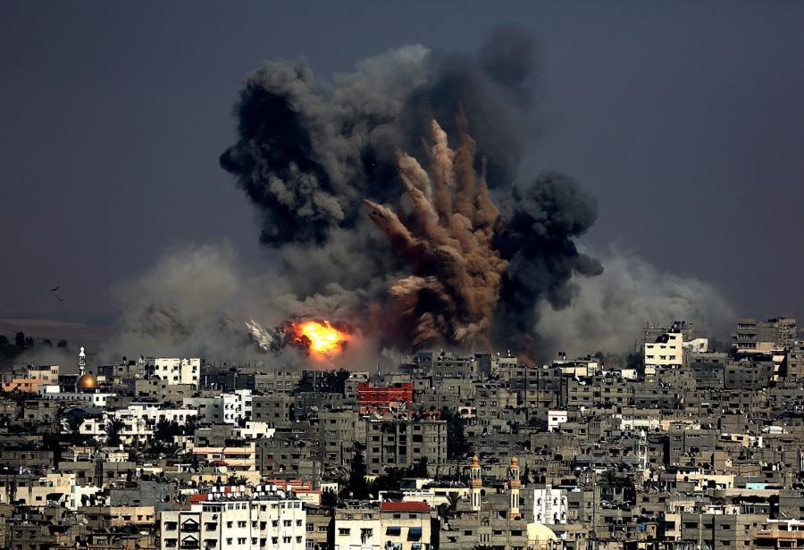 Bombardowanie Strefy Gazy