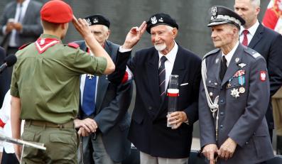 Prezes Światowego Związku Żołnierzy AK Leszek Żukowski i gen. Zbigniew Ścibor-Rylski