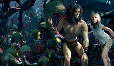 """""""Tarzan wśród małp"""", opowiadając o dżungli, sprawia wrażenie, jakby w jej warunkach powstawał"""