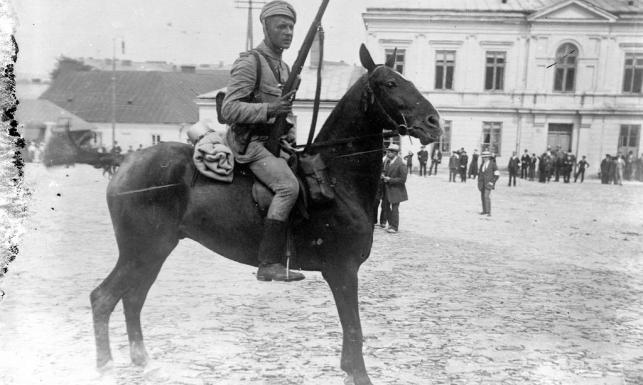 Pierwsza Kadrowa Józefa Piłsudskiego rusza do walki. Stulecie wymarszu z Krakowa [ARCHIWALNE ZDJĘCIA]