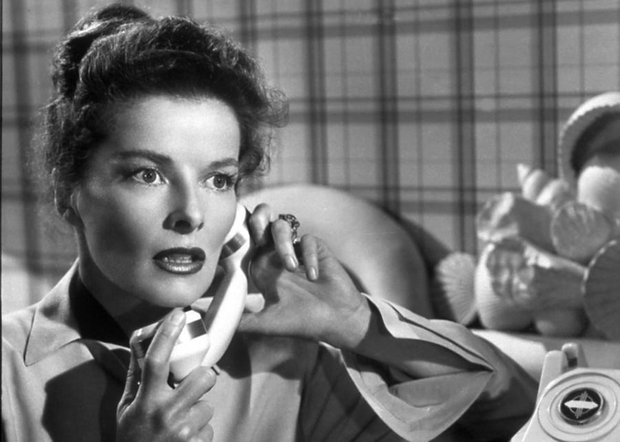 Katharine Hepburn w filmie \