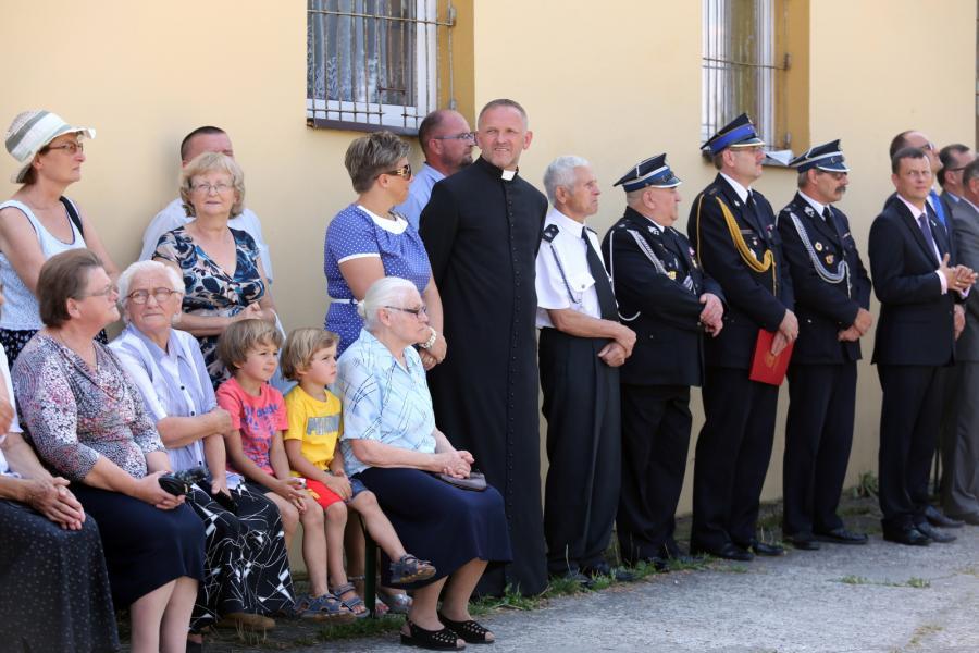 Ks. Wojciech Lemański wziął udział w uroczystościach obchodów 110-lecia Ochotniczej Straży Pożarnej w Jasienicy