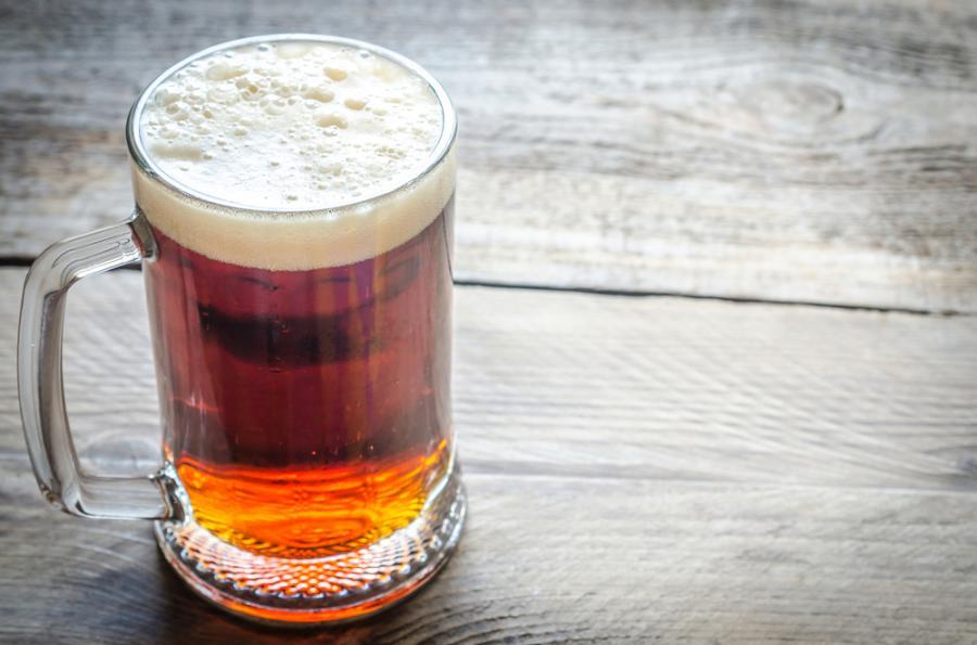 18:00 – szklanka piwa