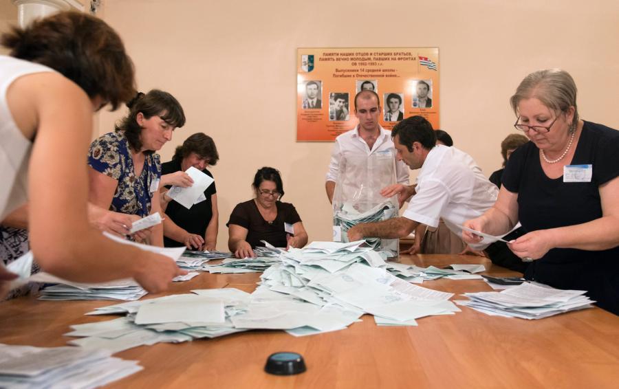 Wybory w Abchazji