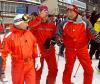 Łukaszenka, Putin i Miedwiediew na nartach