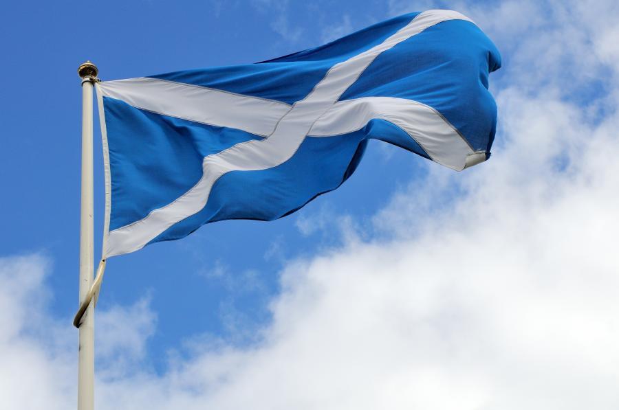 Szkocka flaga