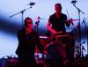 U2 podczas występu na konferencji Apple