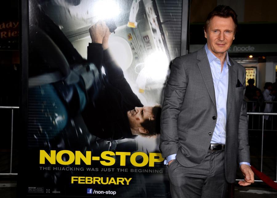Liam Neeson pracuje nad filmem z Bono