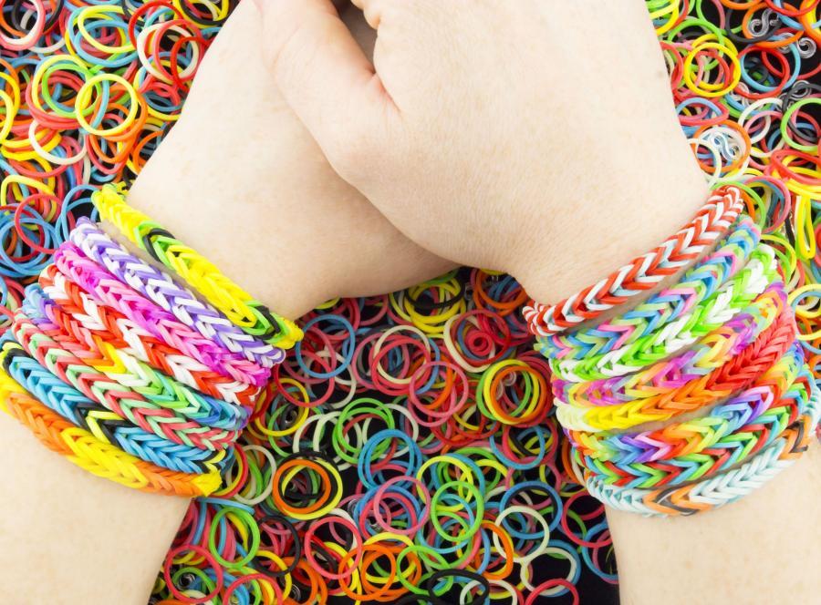 Bransoletki z gumek Loom Bands i Rainbow Loom
