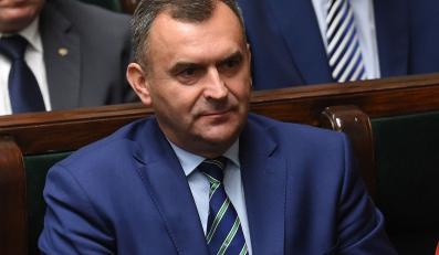 Minister skarbu państwa Włodzimierz Karpiński