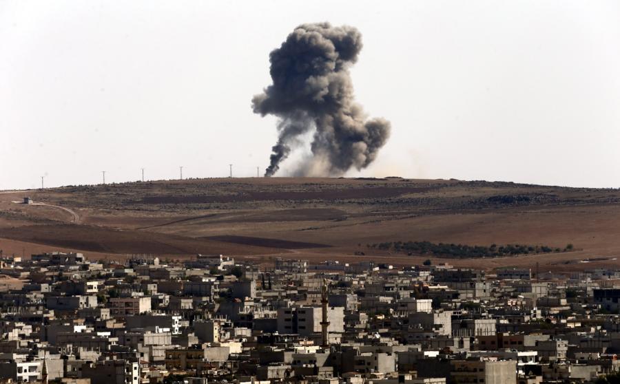Ataki lotnicze na Państwo Islamskie