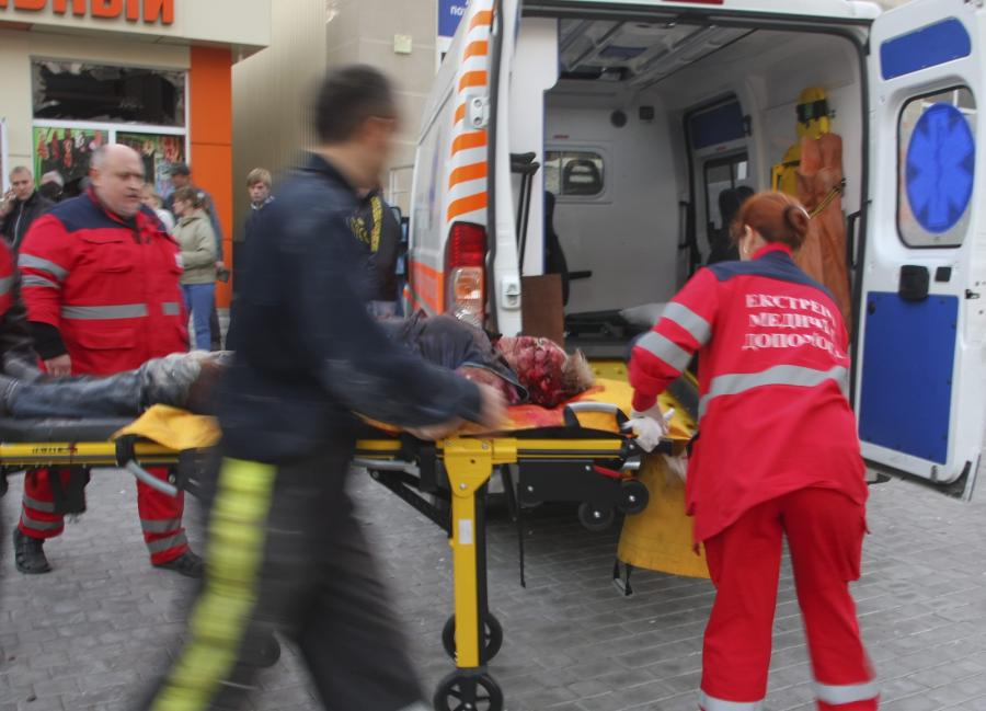 Jedna z ofiar ostrzału