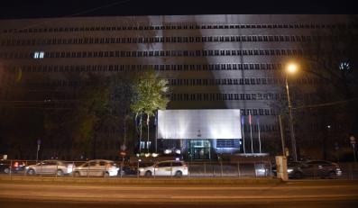 Budynek MON, w któym pracował szpieg