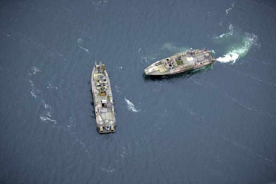 Szedzka akcja na Bałtyku