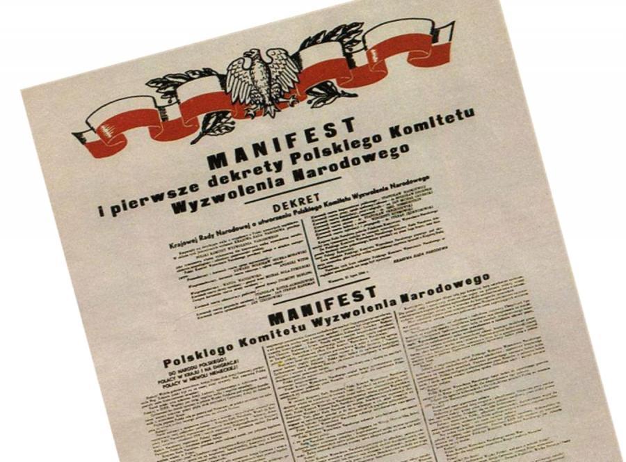 Manifest PKWN z 1944 r.