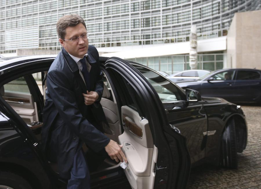 Rosyjski minister ds. energetyki Aleksander Nowak