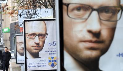 Front Ludowy premiera Arsenija Jaceniuka