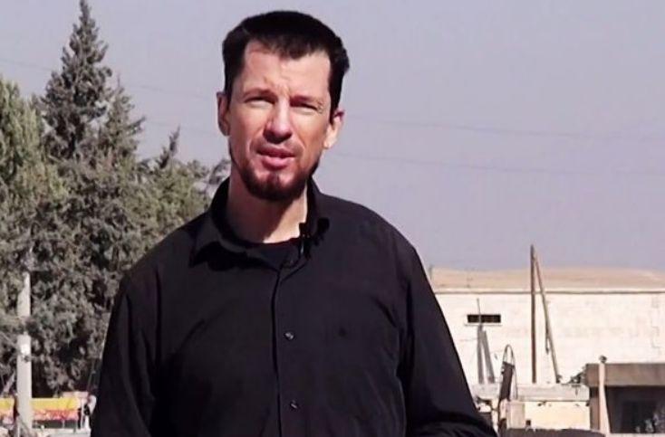 John Cantile w propagandowym nagraniu terrorystów