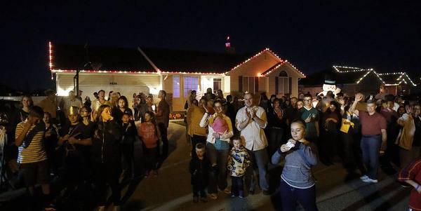 Boże Narodzenie w West Jordan, mieście Ethana Van Leuvena