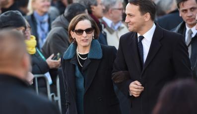 Radosław Sikorski i Anne Applebaum