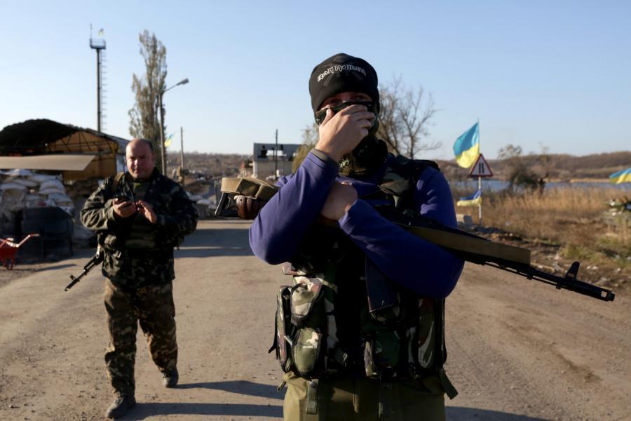 Ukraiński punkt kontrolny