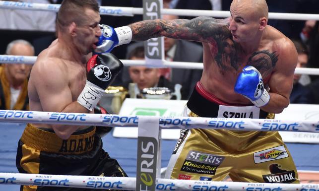Tak Artur Szpilka wygrał w ringu z Tomaszem Adamkiem i zakończył jego bokserską karierę. ZDJĘCIA
