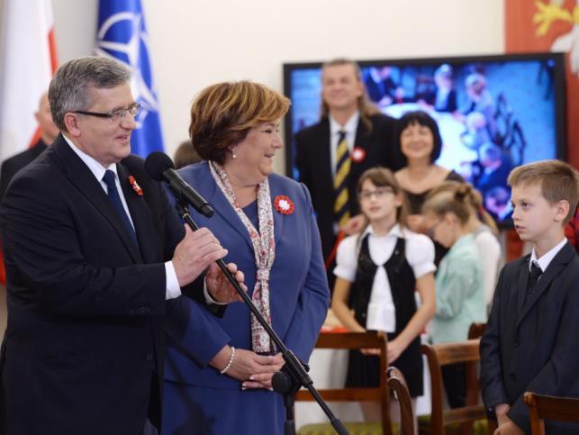Anna i Bronisław Komorowscy