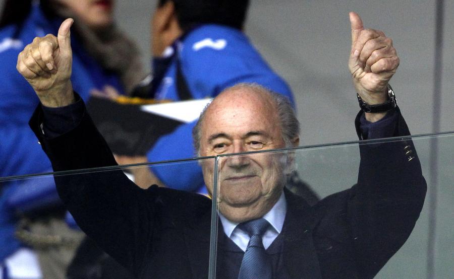 Szef FIFA, Sepp Blatter