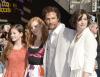 Matthew McConaughey, Anne Hathaway, Jessica Chastain i Mackenzie Foy na Hollywoodzkiej Alei Sław