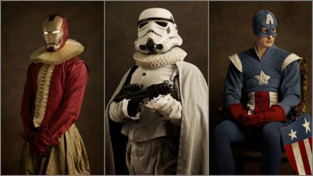 Legendarni bohaterowie kina na zdjęciach Sachy Goldbergera