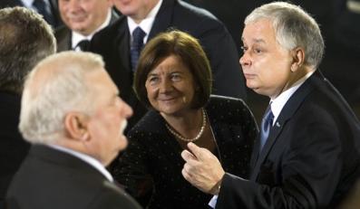 Wałęsa zgadza się z Kaczyńskim