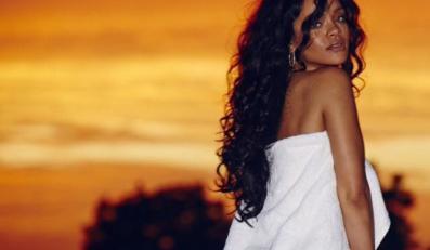 Rihanna i zachód słońca na Barbadosie