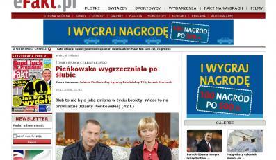 Jolanta Pieńkowska wygrzeczniała po ślubie