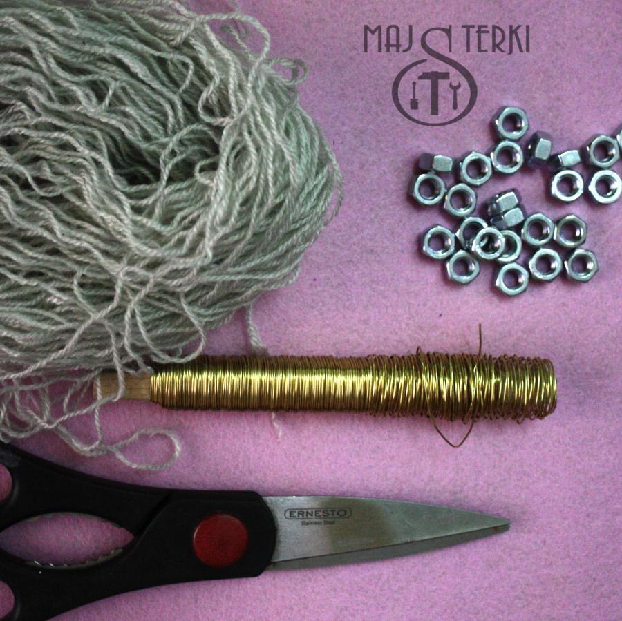 MAJSTERKI: DIY - gwiazdka ze śrubek
