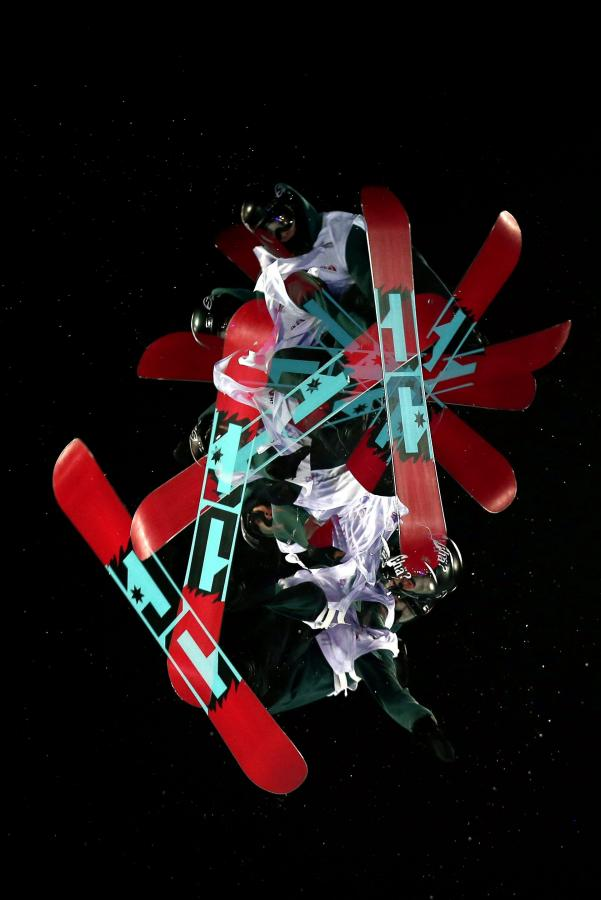 Zobacz szalone akrobacje snowboardzistów