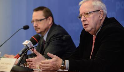 Jacek Krajewski i Marek Twardowski z Porozumienia Zielonogórskiego