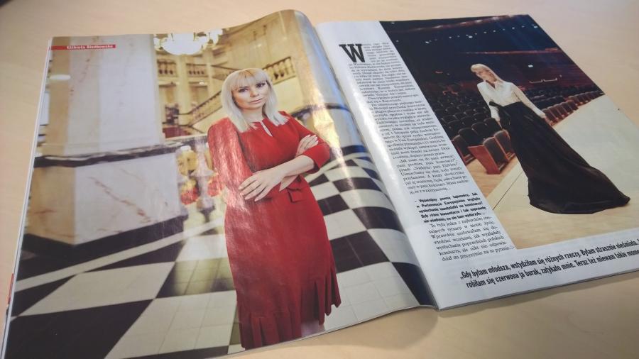 Wywiad z Elżbietą Bieńkowską w magazynie \