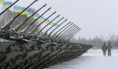 Ukraińska baza wojskowa w Żytomierzu