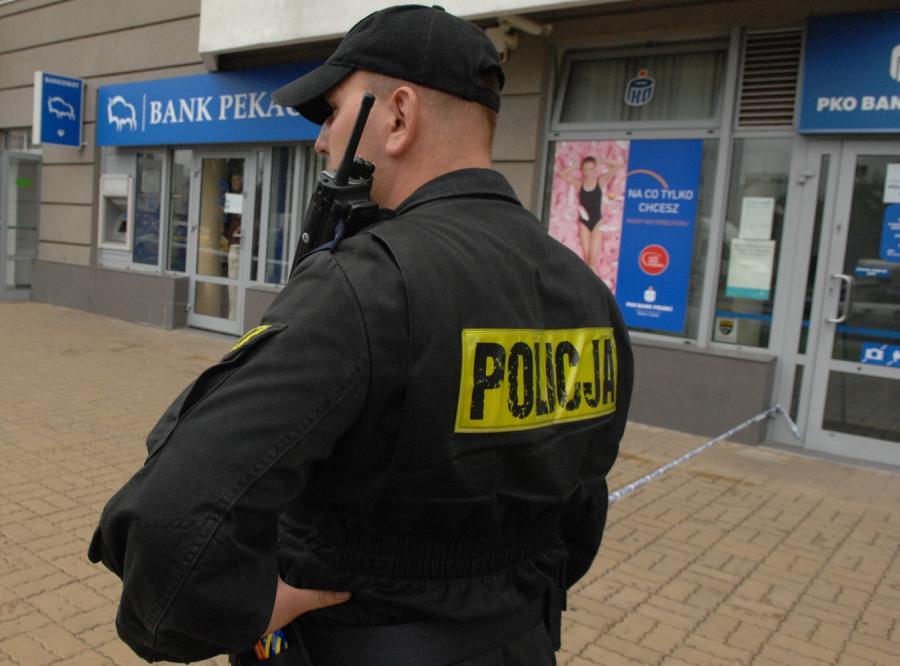 Banki na celowniku rabusiów