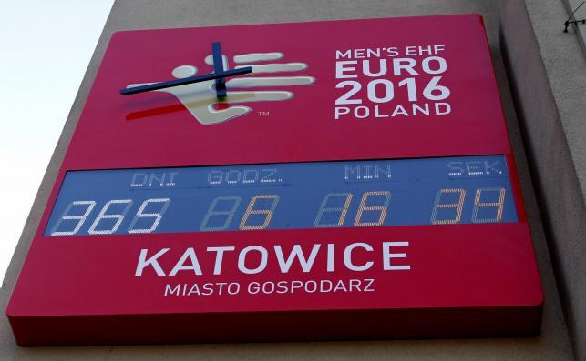 W Katowicach już odmierzają czas do rozpoczęcia Euro 2016 w piłce ręcznej