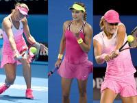 Australian Open: Tenisistki w tym roku postawiły na róż. ZDJĘCIA