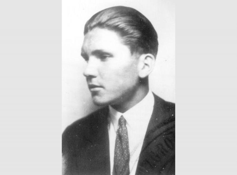 Podporucznik Stefan Jasieński w 1933 roku (fot. archiwum Adama Cyry)