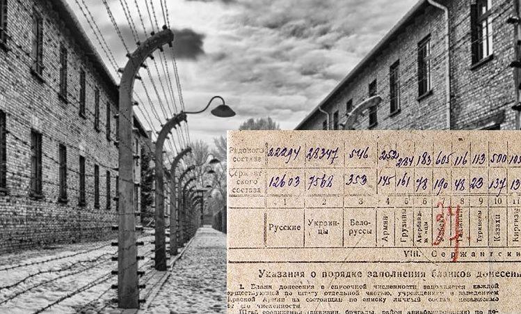 Największą grupą narodowościową wśród szeregowych 60. armii, która otwierała bramy niemieckiego obozu zagłady, stanowili Ukraińcy