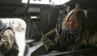 """Młoda uczestniczka szkoleń dla członków batalionu """"Azow"""""""
