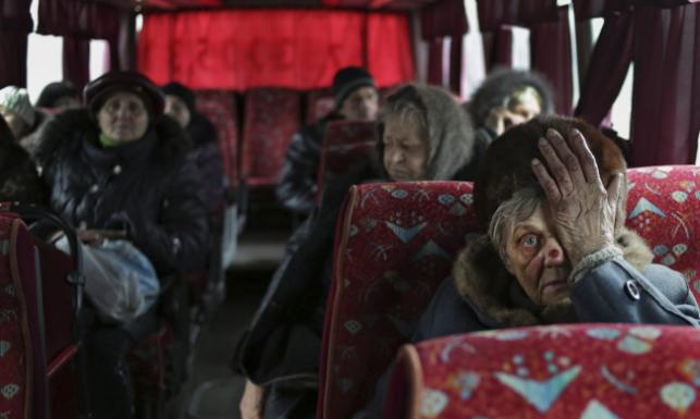 Ukraina w ogniu. Eskalacja przemocy na wschodzie. ZDJĘCIA