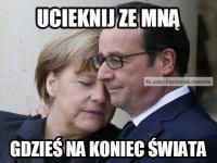 Romantyczna Merkel i śpiący prezes Kaczyński. MEMY TYGODNIA