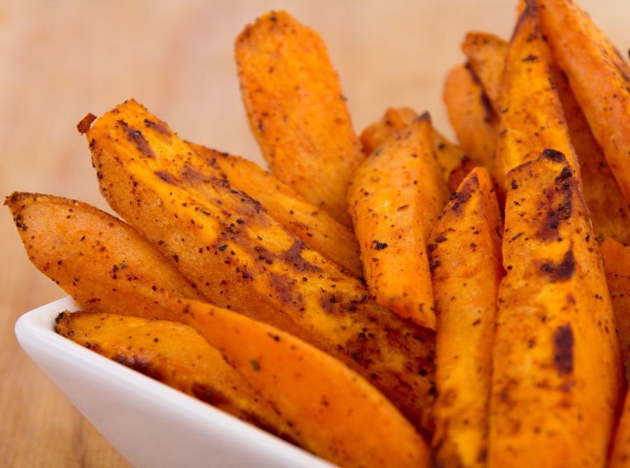 1. Słodkie ziemniaki są bogate w przeciwutleniacze