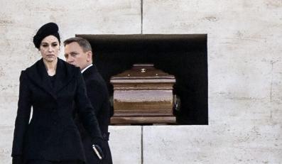 """Monica Bellucci i Daniel Craig na planie """"Spectre"""" w Rzymie"""